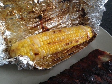 BBQ Corn Finished